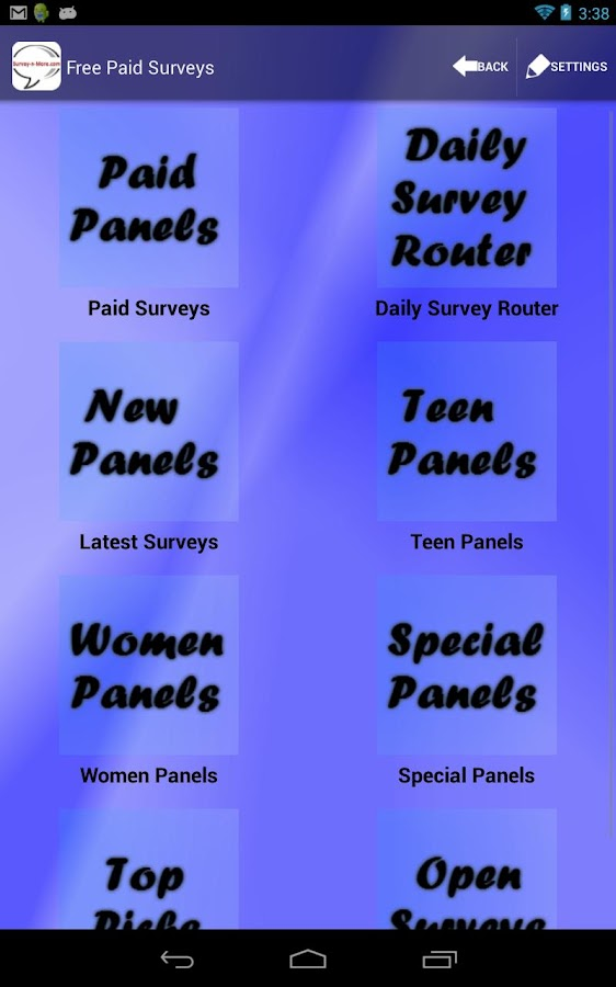 Survey-n-More - Paid Surveys- screenshot