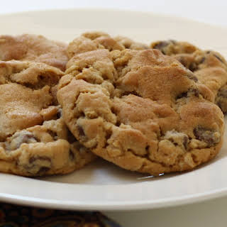 Peanut Butter Oatmeal Chocolate Chip Cookies.