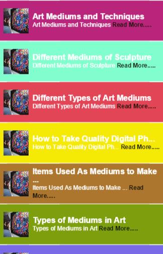 medium art guides