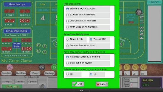 "My Craps Game for 7"" Tablets- screenshot thumbnail"