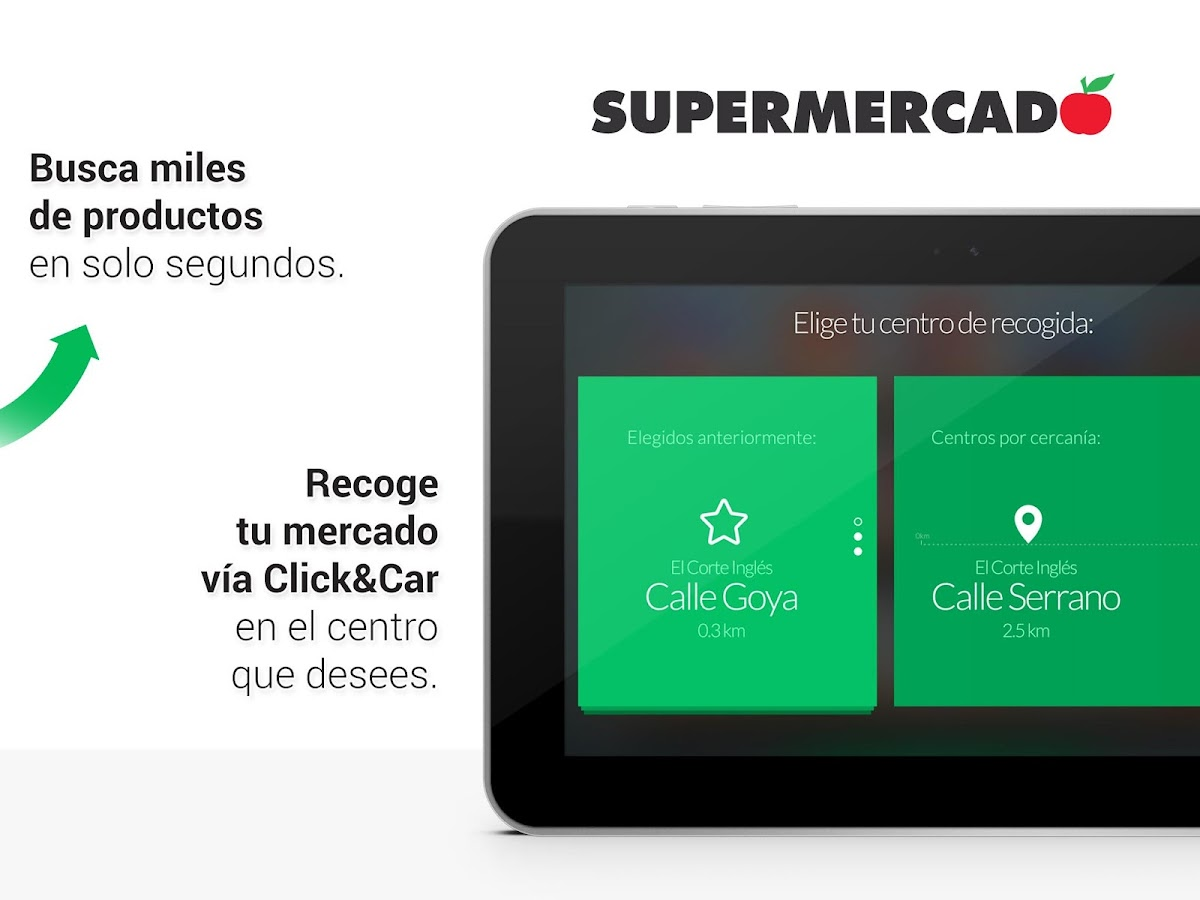 Supermercado El Corte Inglés- screenshot