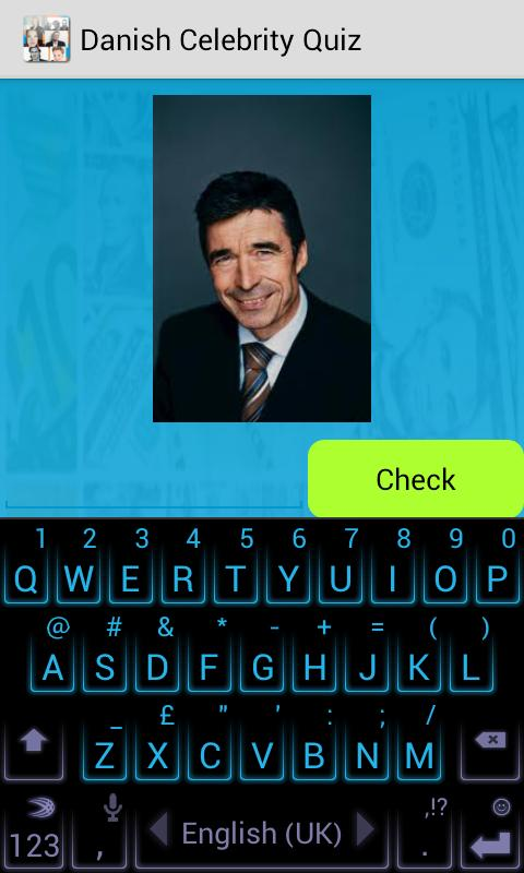 Danish Celebrity Quiz - screenshot