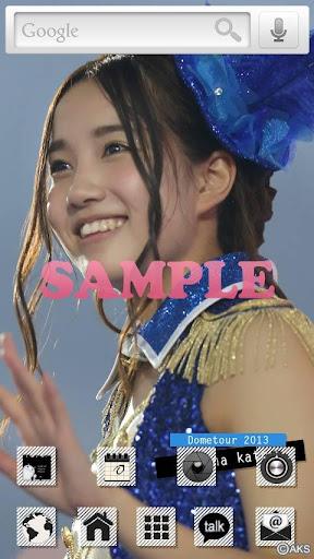 AKB48きせかえ 公式 加藤玲奈-DT2013-1