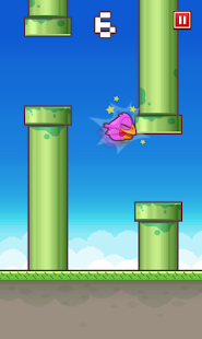 Floppy Bird Captura de pantalla 2