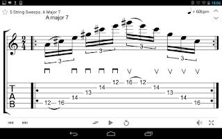 Screenshot of Guitar mageddon Pro