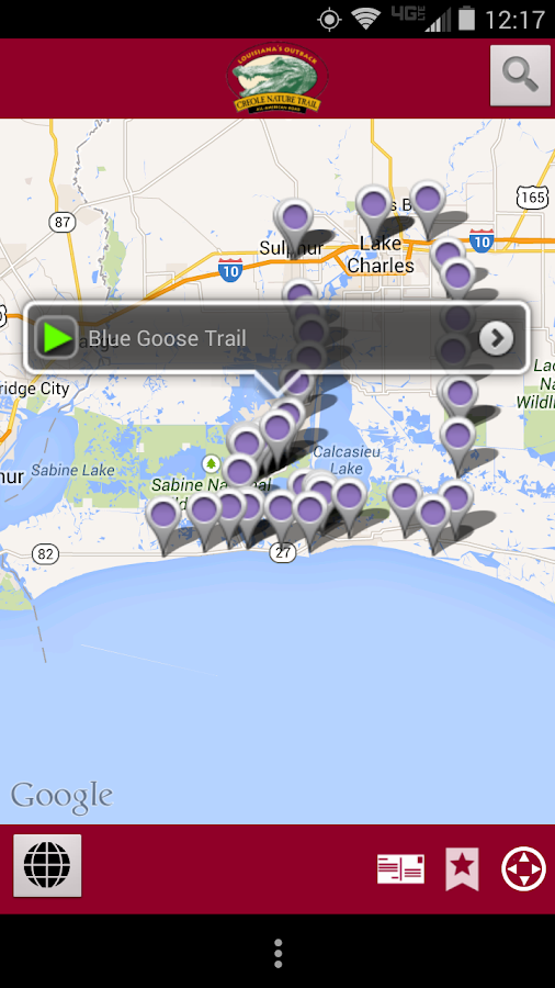 Creole Nature Trail- screenshot