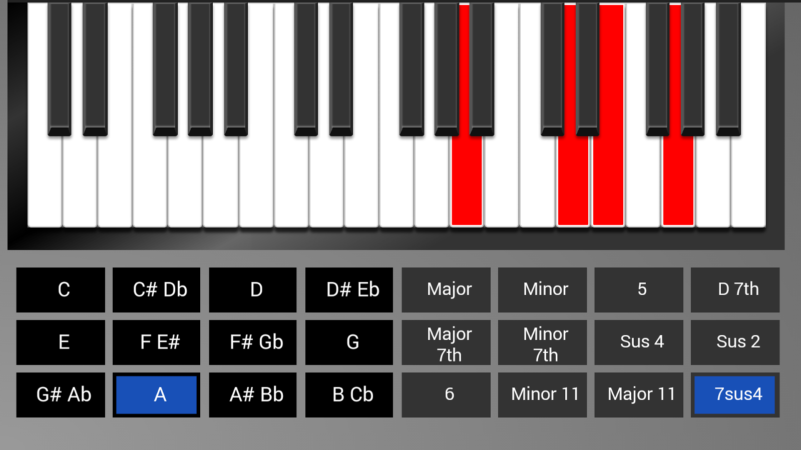 Real piano chord trainer android apps on google play real piano chord trainer screenshot hexwebz Image collections