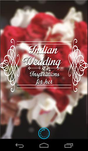 インドの結婚式のインスピレーション