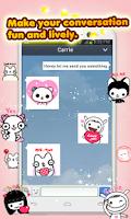 Screenshot of My Chat Sticker 2