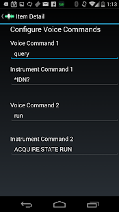Instrument Talk Free screenshot
