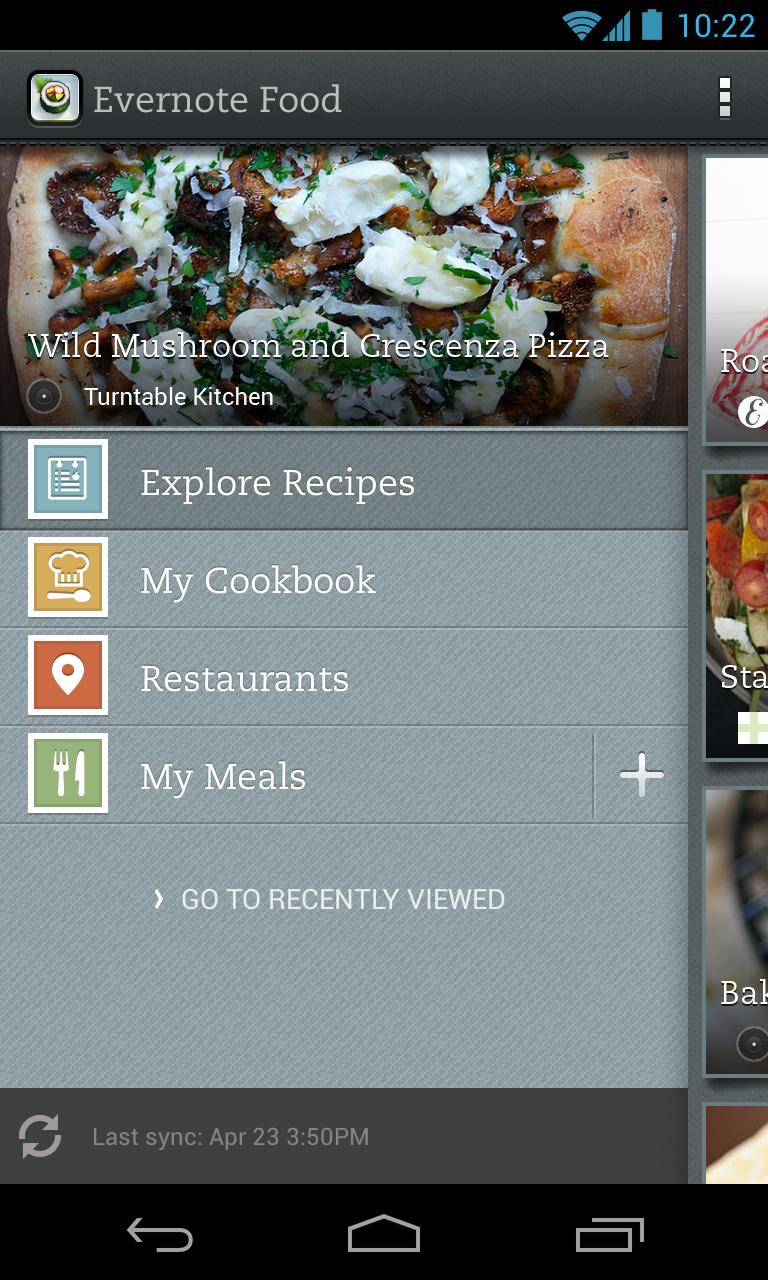 Evernote Food screenshot #10