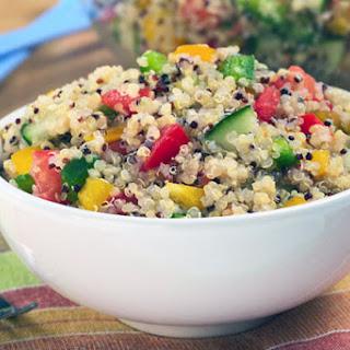 Five Step Simple Summer Quinoa Salad.