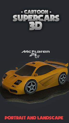 Toon Cars McLaren F1 LM 3D lwp