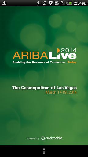 Ariba LIVE 2014 Las Vegas