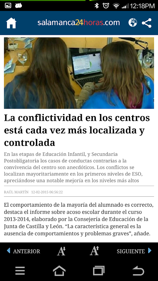 Salamanca 24 Horas - screenshot