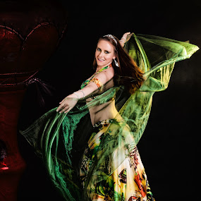 Belly dancer by Martin Zenisek - People Musicians & Entertainers ( drum, dance, belly dancers, , Hope )