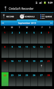 Schedule Voice Recorder - screenshot thumbnail