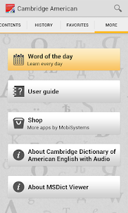 Audio Cambridge American - screenshot thumbnail