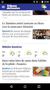 Tribune de Genève - náhled