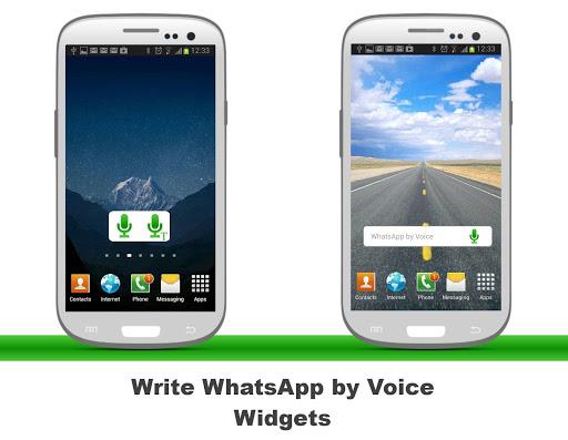 Voice Widget for WhatsApp