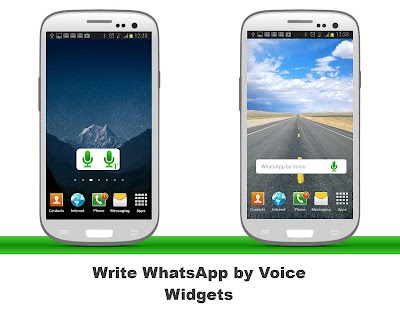 WhatsApp Voice Widget