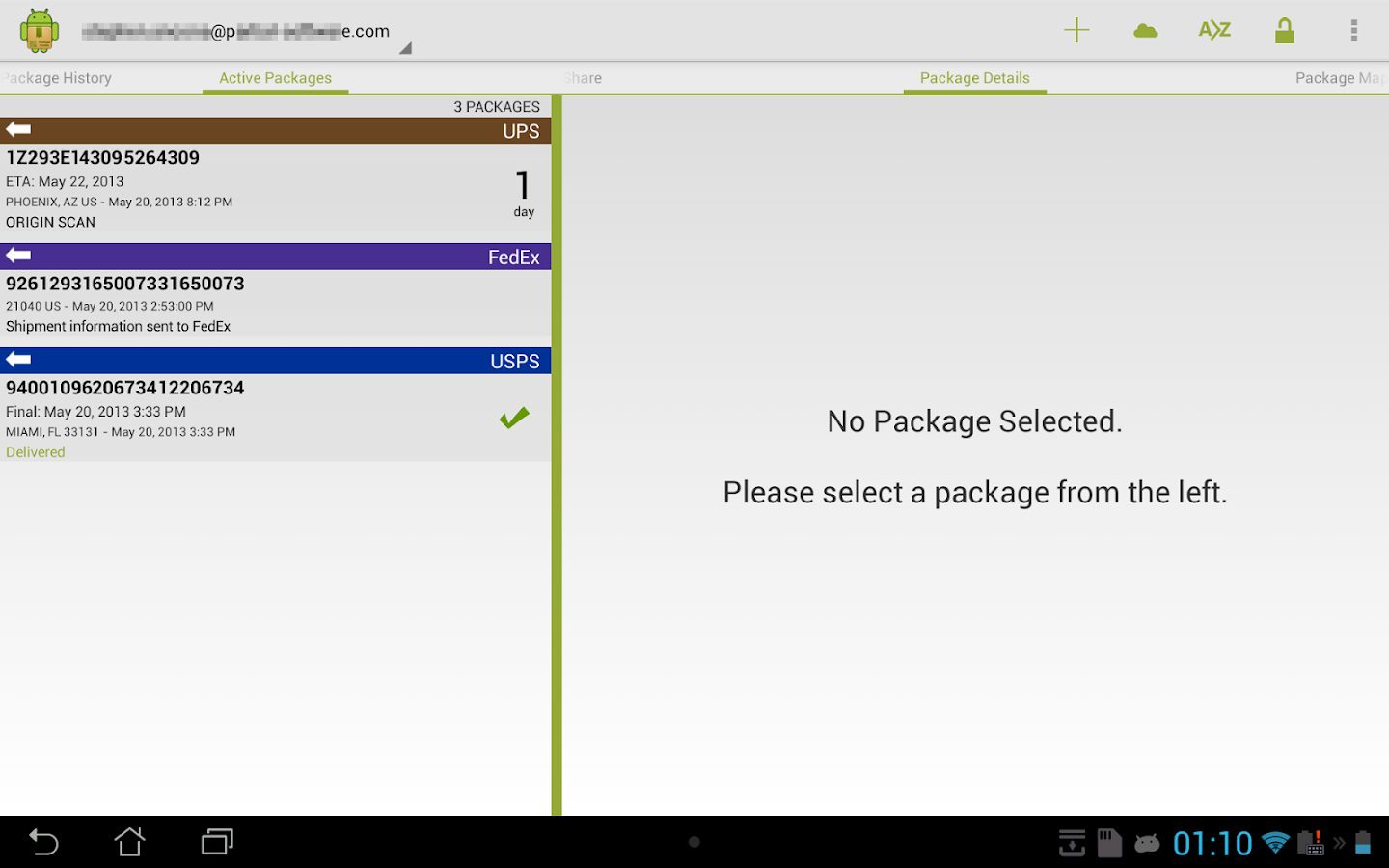 Package Buddy Pro- screenshot