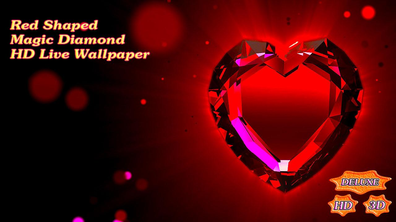 Red Shaped Magic Diamond Heart- screenshot