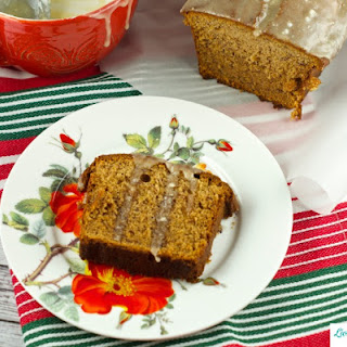 Banana Gingerbread Recipe With Brown Butter Glaze