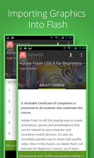 Learn Flash CS5.5 by Udemy