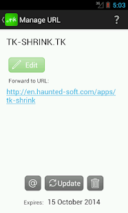 TK URL Shrink- screenshot thumbnail