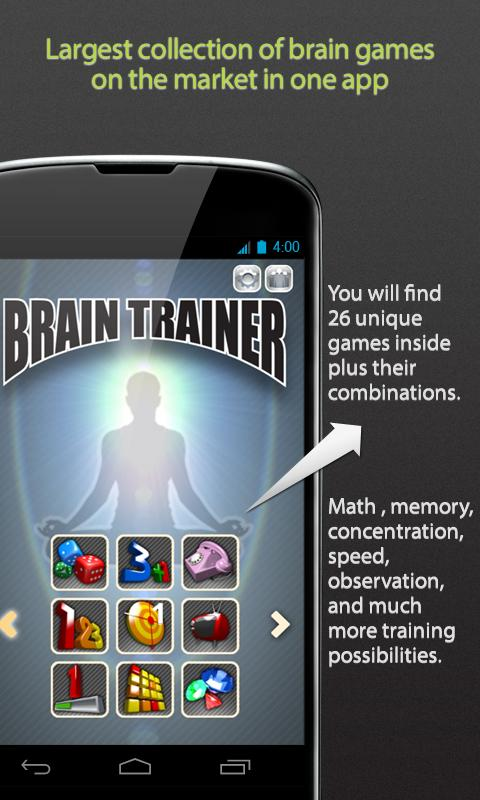 Brain Trainer Special - screenshot