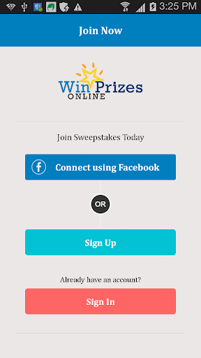 Win Prizes Online