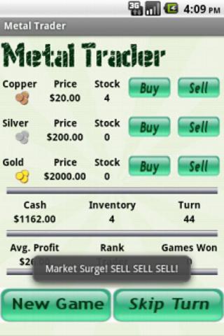 Metal Trader- screenshot