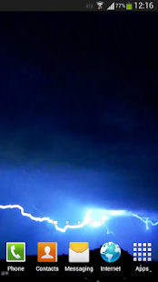 玩個人化App|Lightning Live Wallpaper HD 2免費|APP試玩