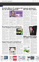 Screenshot of Mobile News