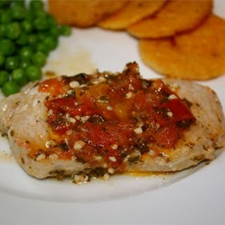 Spicy Italian Pork Cutlets