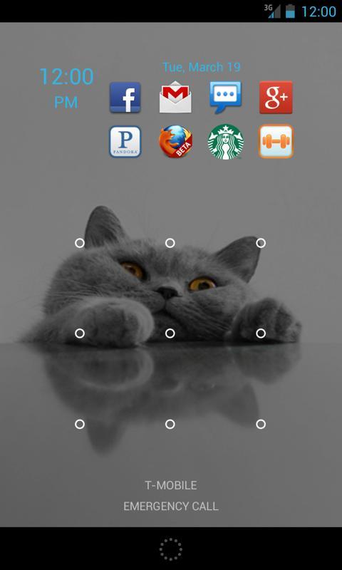 Shipoopi Lockscreen Widget- screenshot