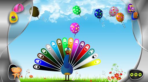Balloons & Peacock Color Match 1.0.0 screenshots 2