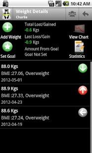 Body & Weight Monitor - screenshot thumbnail