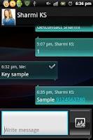 Screenshot of Forgot contact