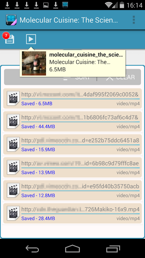 AVD Download Video Downloader - screenshot