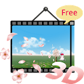 3D Cherry Blossom LWP(Free) icon