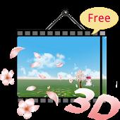 3D Cherry Blossom LWP(Free)