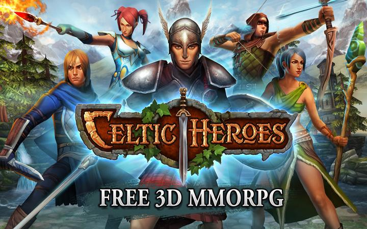 android 3D MMO Celtic Heroes Screenshot 17