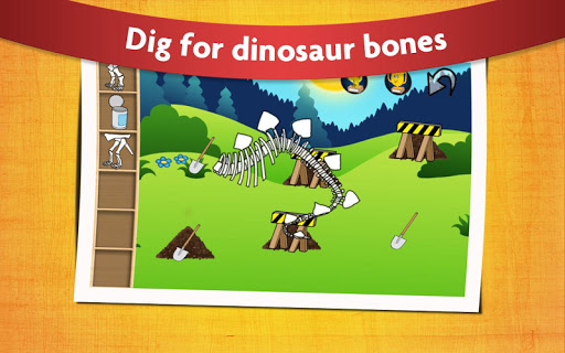 恐龍兒童遊戲免費