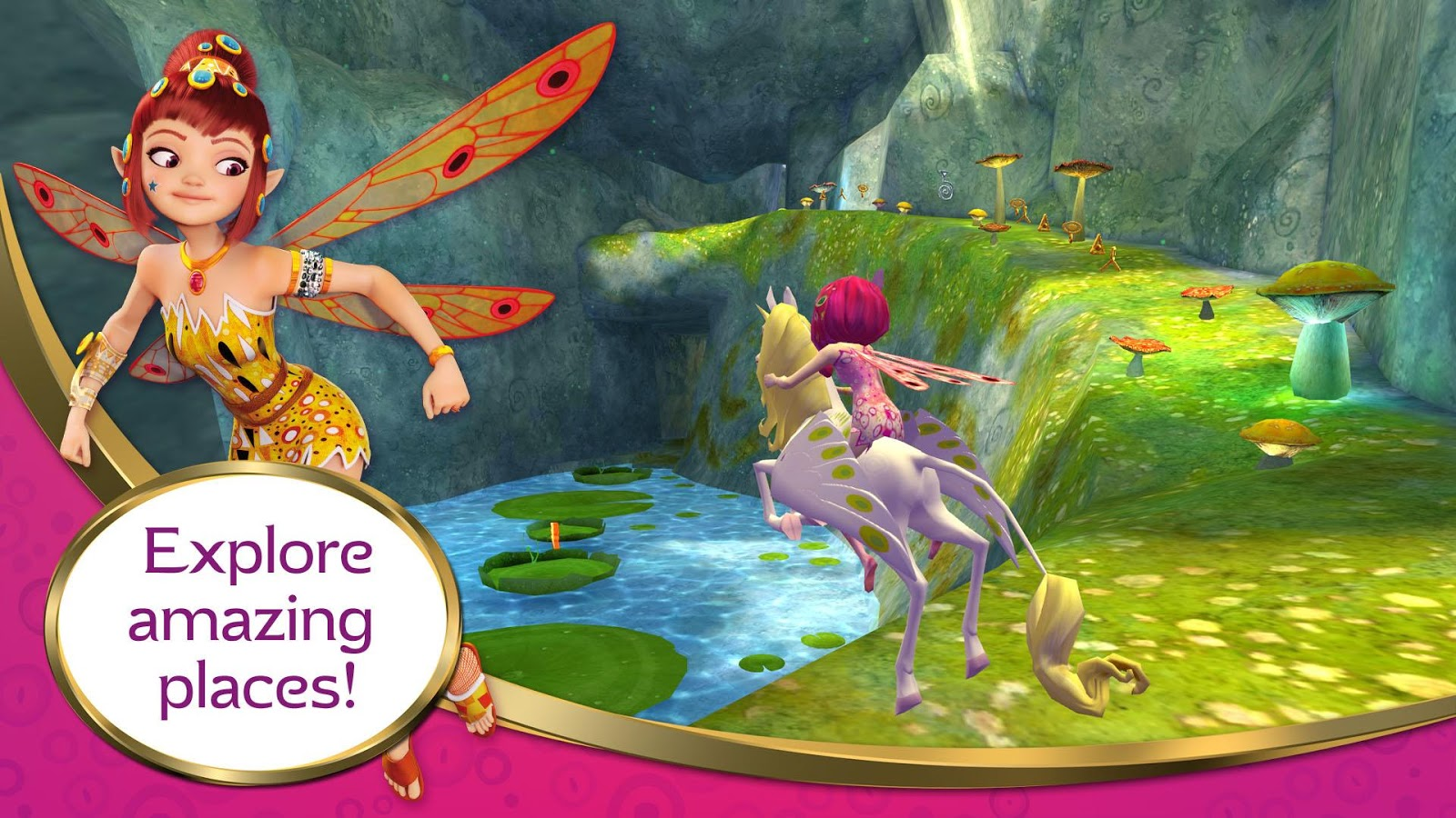 mia and me free the unicorns android apps on google play