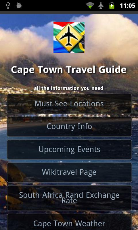 Cape town travel guide android apps on google play for Cape town travel guide