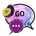 GO SMS THEME/purplepassion icon