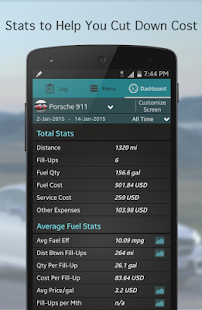 Fuel Buddy - Car Mileage Log - screenshot thumbnail