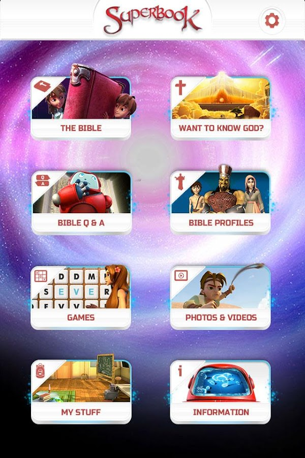 Superbook Bible, Video & Games - screenshot